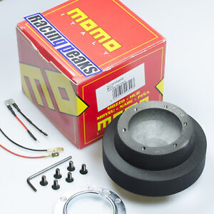 MINI-Cooper-S-One-Cabrio-R53-R50-R52-steering-wheel-hub-boss-kit-MOMO-2012