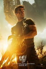 TRANSFORMERS AGE OF EXTINCTION 4 MOVIE POSTER DS ORIGINAL 27x40 MARK WAHLBERG