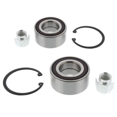 Peugeot 1007 2005-2009 Front Wheel Bearing Kits Pair