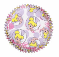 Fairies Tinkerbell Cupcake Baking Cups 50 Ct From Wilton 5110 -
