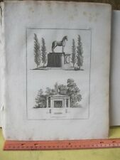 Vintage Print,CANAL HOUSE,Ideen Magazine,Garden Follies,6  eBay