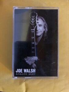 "JOE WALSH ""Analog Man"" Promo Only Cassette Tape | Eagles | James Gang | RARE"