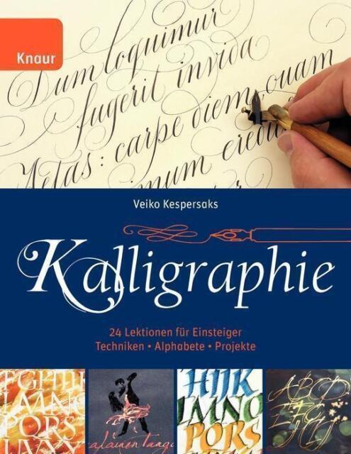 Kalligraphie von Veiko Kespersaks    UNGELESEN