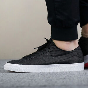 attractive price online here wide varieties Details about NIKE SB ZOOM BLAZER LOW CNVS DECON Canvas Trainers Retro - UK  Size 9 (EUR 44)
