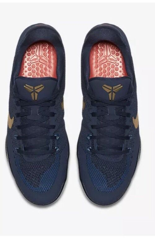 Nike Kobe 11 XI Philippines 13 Navy Blue Gold Bryant AS Olympic HTM AS Bryant 836183-447 f1500c