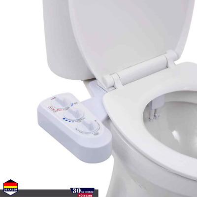 Dusch//WC Bidet Taharet//Taharat Aufsatz mit  Kaltwasser