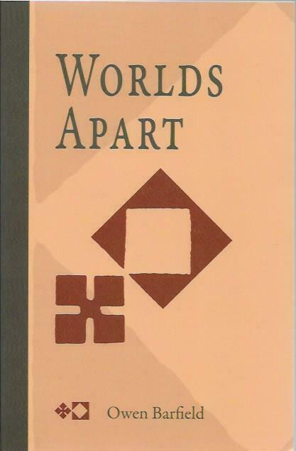 Worlds Apart by Owen Barfield (Paperback / softback, 2006)