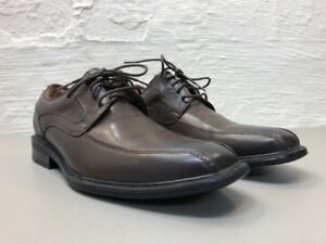 EUC-Men-039-s-GH-Bass-amp-Co-Gordon-Size-7-5M-Shoes-Brown-Bicycle-Toe-Laced-Oxfords