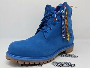 Details zu Timberland x Champion 6 Inch Luxe Premium Boots Surf Blue Men's TB0A1UCG J45