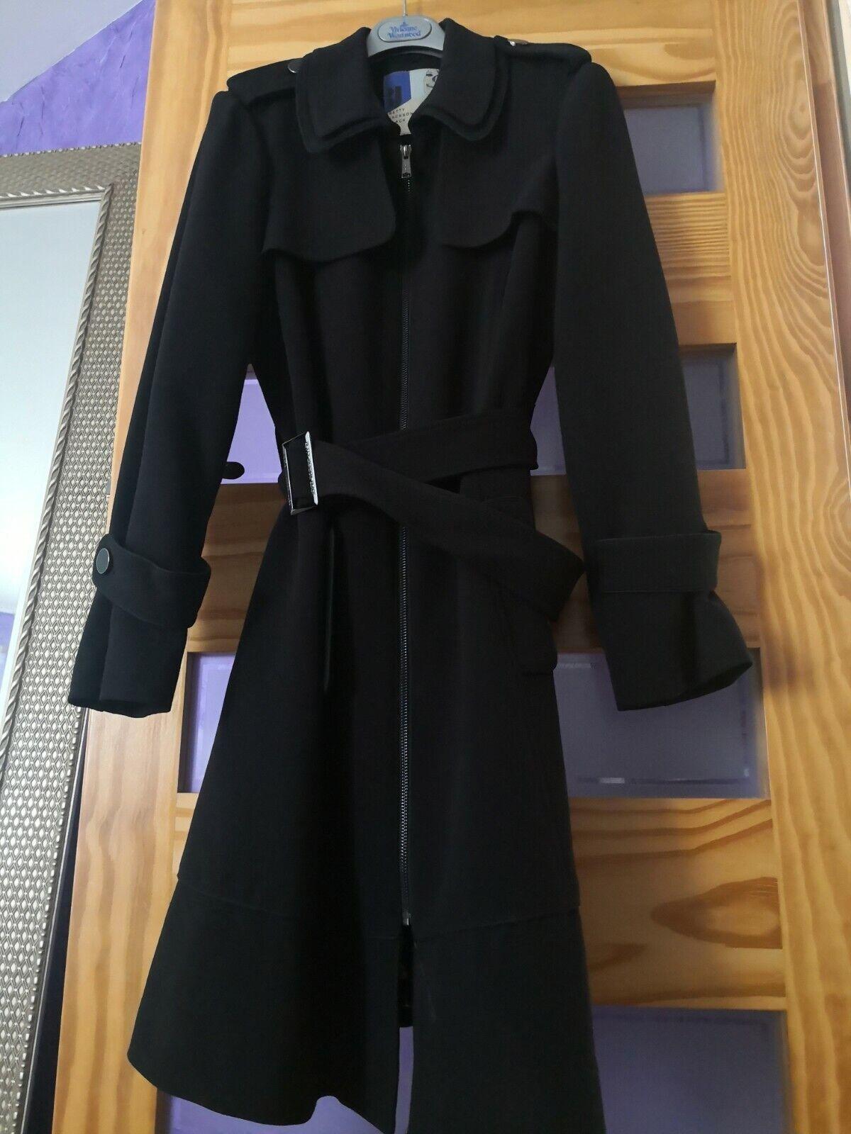 Betty Jackson Black from Designers at Debenhams beautiful coat black colour M 12
