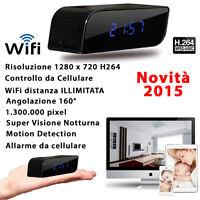 Night Vision Zimmer Cam Spy Licht Hd 1280p Motion Detection Clock Alarm Wifi