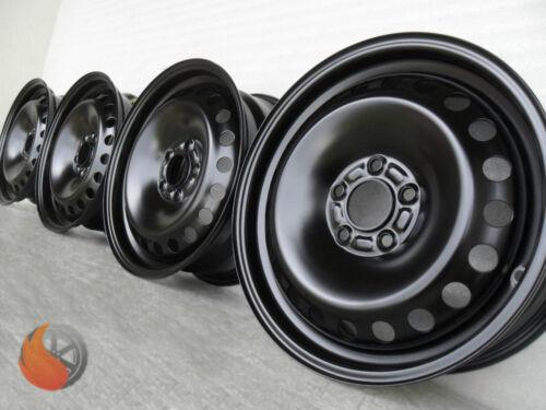 Nuevo 4x acero llantas Skoda Fabia Combi para trasera escalonada Roomster VW Fox polo 6r 9n nuevo