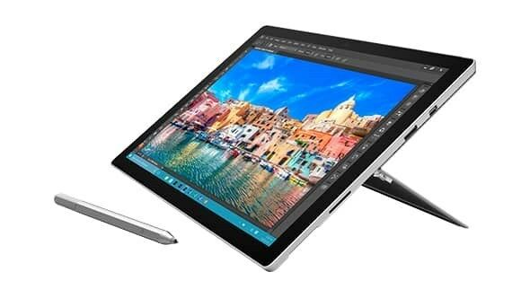 "Microsoft Surface Pro 4 Intel Core i5 12.3 "" IPS Windows 10 CAMÉRA"