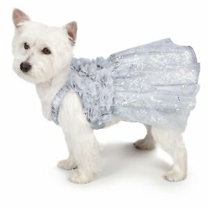 Shimmer-Nights-034-Whitney-034-Dress-for-Dogs-Size-XXS-and-XS-Christmas-Holiday