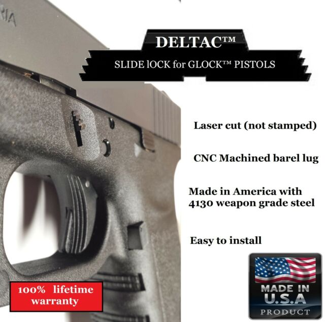 Deltac Slide Lock Pin Removal Tool Combo Glock 19 Gen1 To Gen4 Ebay