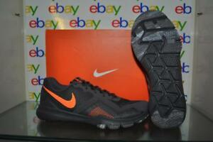 f0cbd702e0a10 Nike Flex Control II Mens Training Shoes 924204 080 Grey Orange NIB ...