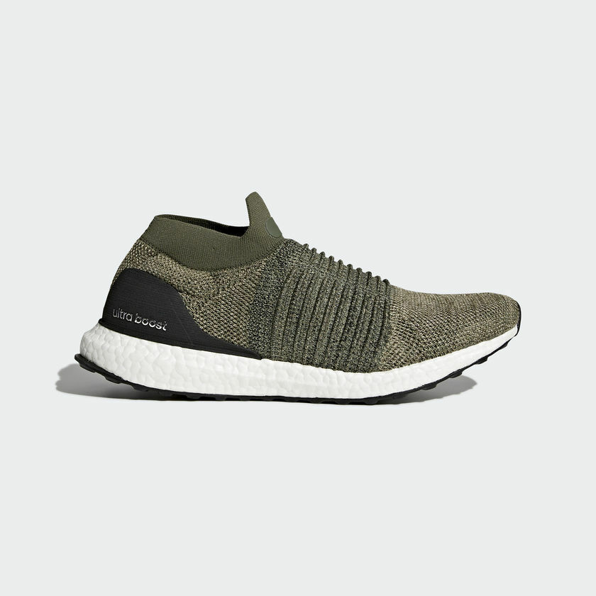 Adidas Ultra Boost Laceless Olive Trace Cargo Size 8. CP9252 yeezy nmd pk