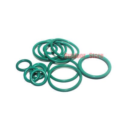 20pcs Black Rubber Airtight O-Ring Sealing ring Gasket Line diameter:1.0mm)