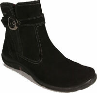LEGERO Winter Stiefel Stiefelette schwarz Leder GORE TEX Warmfutter NEU