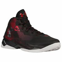 UNDER ARMOUR UA Curry 2.5 Basketball Shoe 1274425-001 Black Red (Size 10 - 11)