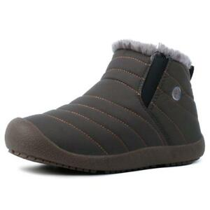 Men-039-s-Women-039-s-Warm-Snow-Boots-Winter-Cotton-in-side-Large-Size-Casual-Shoes