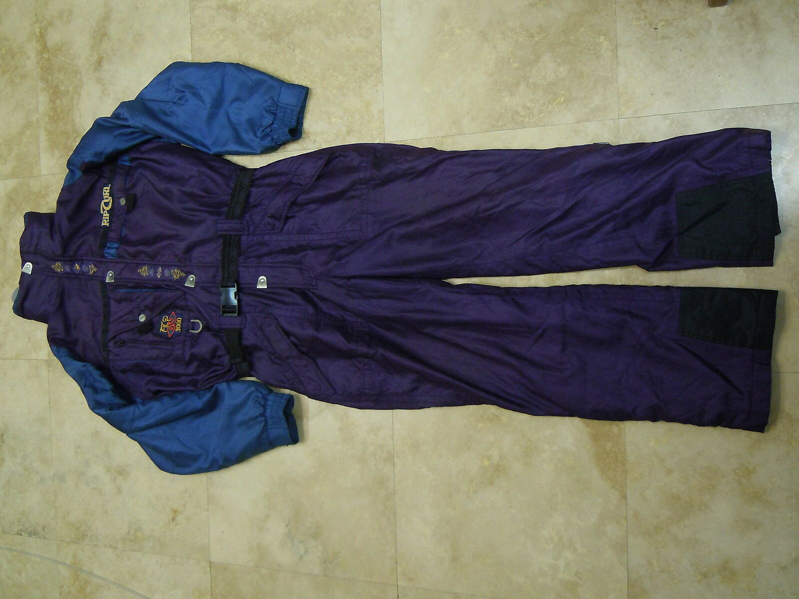 Vintage Rip Curl Alp 3000 Full Snowsuit Snow Ski Suit Größe Mens Medium