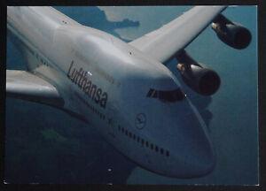 AK-Lufthansa-Boeing-747-Postkarte-mit-Sonderstempel-IMOS-Winterspiele