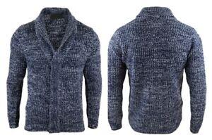 Men-s-New-Kiabi-Chunky-Thick-Cotton-Cardigan-Size-S-M-L-XL-Sweater