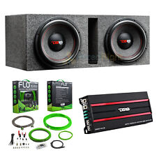 """Kenwood Bass Party Pack 12/"""" Subs Pair Plus 2-Channel Amplifier P-W1221"""
