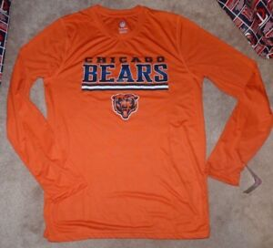 separation shoes 4d0a8 78a29 Details about NEW NFL Chicago Bears L/S Long Sleeve T Shirt Youth Boys XL  18 Orange NEW NWT