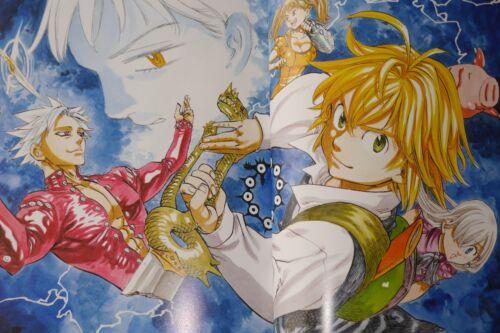 JAPAN Nakaba Suzuki The Seven Deadly Sins Illustration Collection Art Book
