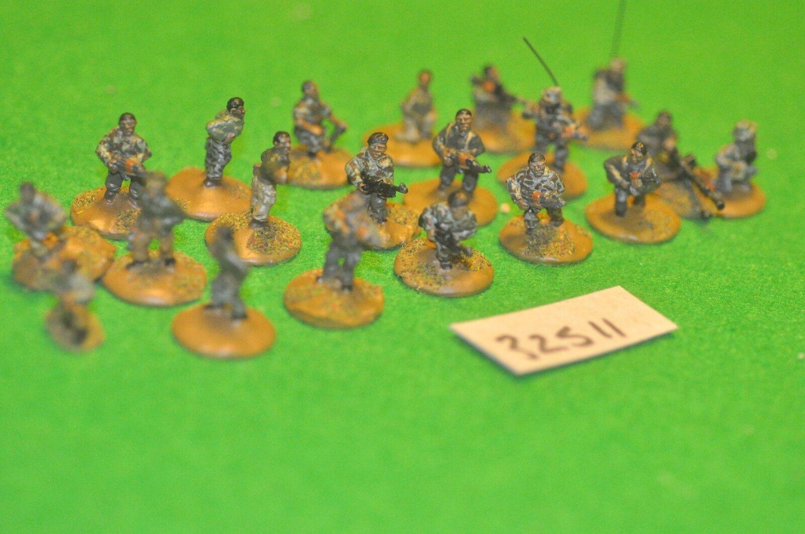 20mm modern   africa skirmish - skirmish 20 figures - inf (32511)
