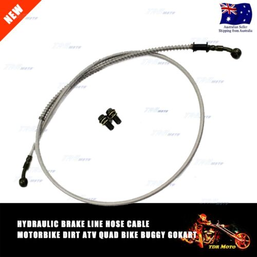Hydraulic Brake Line//Hose//Cable 1.3m Buggy GoKart Motorbike Dirt Quad ATV Bike