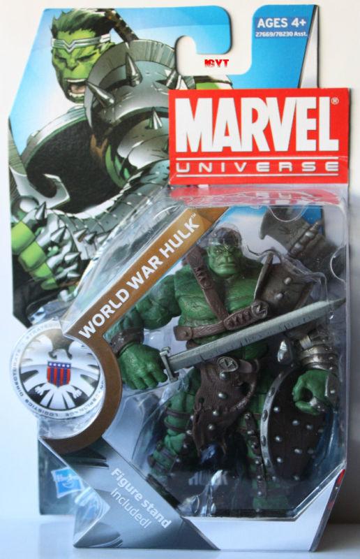 MARVEL UNIVERSE GUERRA MONDIALE HULK  SERIE 3 N. 003  3 3/4