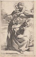 Giov. Battista da Cento Pasqualini (1585-1634) Madonna del Carmine dal Guercino