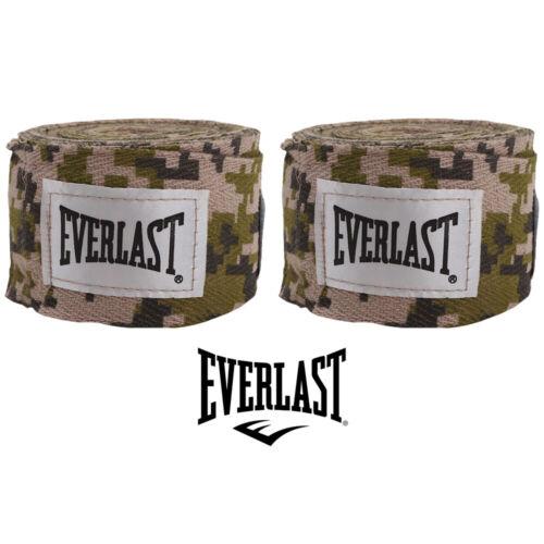 2.75 m Everlast Boxbandagen elastisch camo