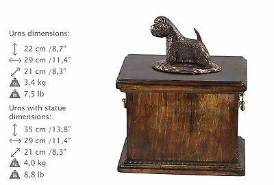 100% Wahr Weißer Hochlandterrier, Urne, Kalte Bronze, Artdog, De, Type 2 Dauerhafter Service
