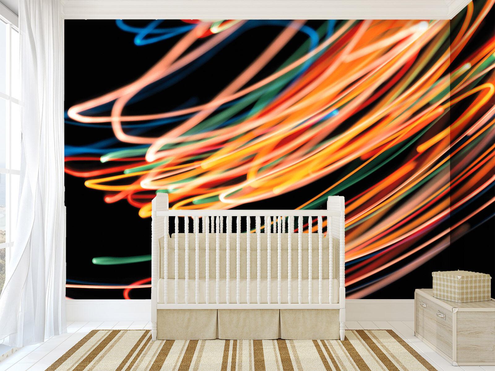 3D Farbiges Licht Schatten 73 Tapete Wandgemälde Tapete Tapeten Bild Familie DE