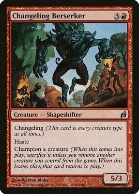 Changeling Berserker Lorwyn NM Red Uncommon MAGIC THE GATHERING CARD ABUGames
