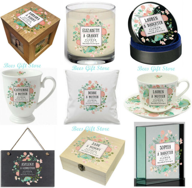 PERSONALISED UNIQUE & BEAUTIFUL Gifts For HER MUM MOTHERS DAY NAN FRIEND Sister