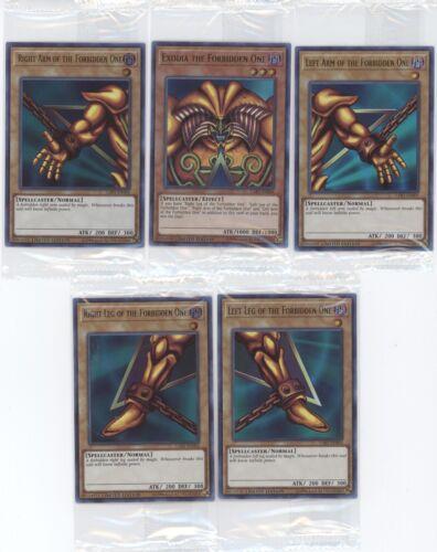 "Trading Card Game EXODIA THE FORBIDDEN ONE Lost Art /""LART/"" Promo Set Yu-Gi-Oh"