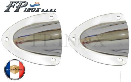 inox 316 Aérateur Prise d/'air 57x53mm Lot de 2