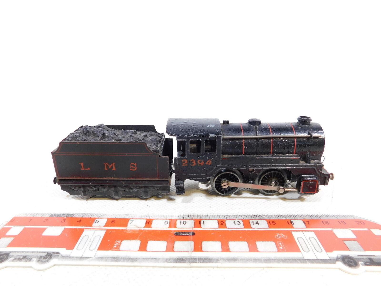 BI283-0,5  Trix TTR H0 00 AC Dampflok LOK 2394 mit LMS Tender, Treppe fehlt