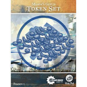 Guild Ball: Mason's Guild - Token Set