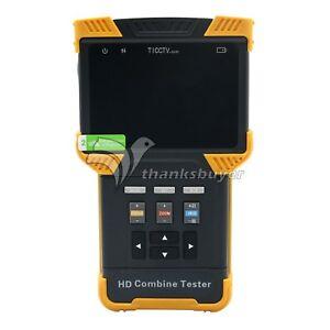 4 0 Hd 1080p Testeur Ipc Cctv Ip Camera Analogique Test Poe