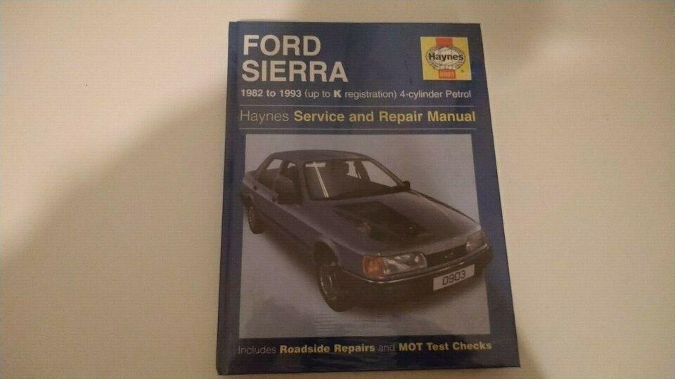 Haynes Reparationshåndbog, Ford Sierra