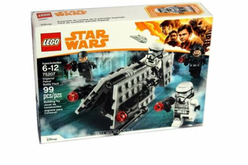 LEGO STAR WARS #75207 Imperial Patrol Battle Pack Building Toy Set