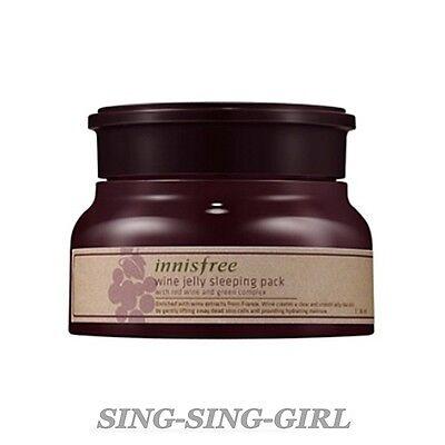 Innisfree Wine Jelly Sleeping Pack 80ml sing-sing-girl