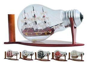 Ship in Bottle Model Boat Ship Decoration