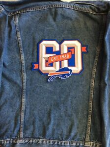 Buffalo Bills Schedule 2020.Details About Buffalo Bills 60th Anniversary Patch 10 Jacket Style 2019 2020 Season